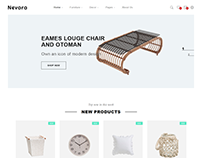 Nevara - Furniture & Interior eCommerce Template