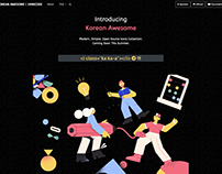 Korean Awesome [Open Source Font 2020]