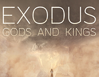 """ Exodus Gods and Kings "" Movie Poster"