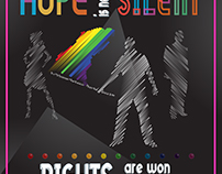 HOPE IS NEVER SILENT #TypeWithPride