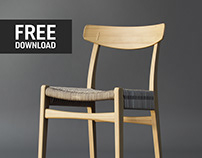 Carl Hansen CH23 Chair FREE DOWNLOAD