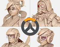 OVERWATCH highres models