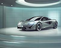 Full CGI - McLaren 570S