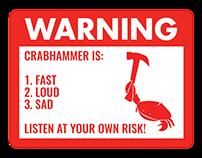 Crabhammer Shirt Designs