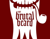 "[Logo] ""Mr Brutal Beard"" facial hair oil"