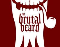"[Logo] ""Mr Brutal Beard"" facial hair oil"