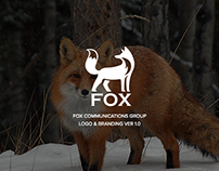 FOX Communications Group Logo Design