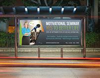 Seminar Billboard Template