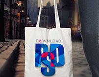 Canvas Shopping Bag Mockup Free PSD