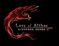 Concept art / logo - Video game - Lays of althas