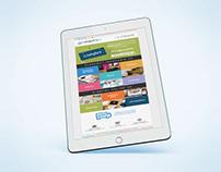 Diseño de newsletter Dolphin Tecnologías -Turismo