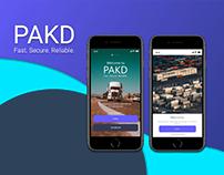 PAKD Logistic App UI