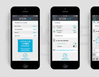 Actéon - Application Mobile