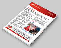 Ingersoll Rand Printed Newsletter