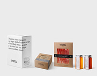 Camino Mitad Branding & Packaging Design