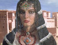 Hadda, a moroccan lady