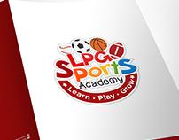 LPG Sports Academy Stationery Design