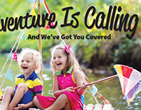 Playful Summer Mag AD for WhitCo Insurance