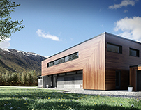 Villa OHM - 3D Visuals - Contemporary Architecture