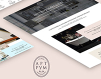 Website Art Room / website design / UI/UX / webdesign