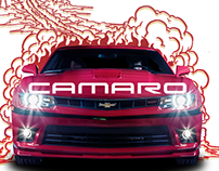 Chevy Camaro Posters