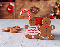 Gingerbread 3ds Max