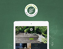 Organic - Food&Restaurant Theme