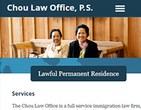 Chou Law Office Website
