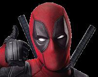 Poster Deadpool 3d