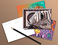 "Set of postcards ""Kyiv – the city of contrasts"""