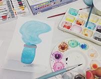 Watercolors/Aquarelas Vol.2