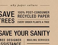 Email design | Paper Culture