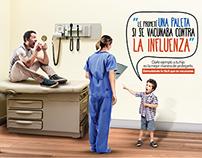 Campaña contra la Influenza - Sanofi