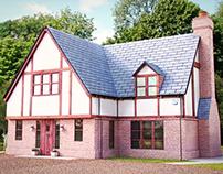 3D House Exterior Visualisation