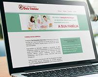 Tela Mosquiteira Dois Irmãos - Redesign de Website