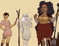 2017 D&D campaign character design