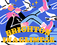 Brighton in a glimpse – An illustrated book project