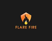 FLARE FIRE LOGO