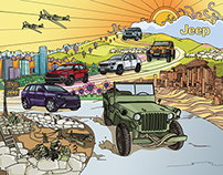 illustration for Jeep