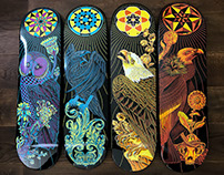 Technê: Skate Deck Series