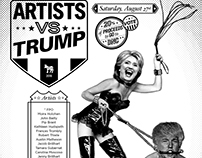 Artists Vs Trump Auction