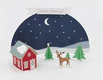 Christmas Card 2015 Paper Landscape