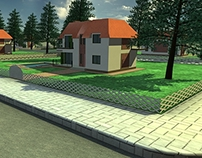 3D Visualisation / Vlore Albania