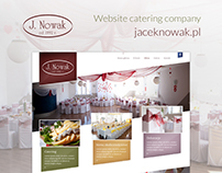 Website Catering Company