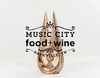 Sculpture - Music City Food + Wine Fest. Kings of leon