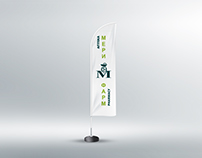 Feather Flag - Meri Farm Pharmacy