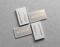 Modern Business Card Showcase Mockup