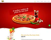 Seven Pizza Eventos - Responsive Website