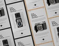 Free Brand Dl Flyer Mockup PSD