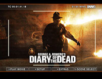 Diary of the Dead: DVD Menu's